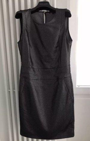 PATRIZIA PEPE Etuikleid Abito Dress Kleid / Anthrazit / ital. 44 deutsch 38