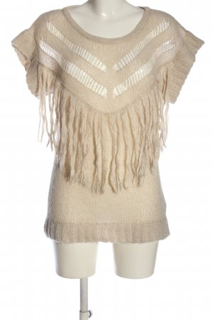 Patrizia Pepe Fine Knitted Cardigan cream casual look