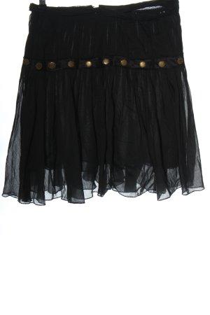 Patrizia Pepe Jupe évasée noir style festif