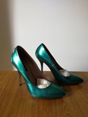 Patrizia Pepe High Heels green leather