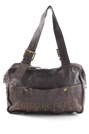 Patrizia Pepe Handtasche dunkelbraun Casual-Look