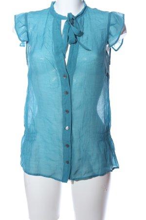 Patrizia Pepe Hemd-Bluse blau Casual-Look