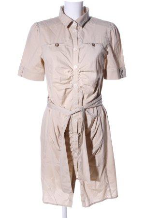 Patrizia Pepe Abito blusa camicia crema stile casual
