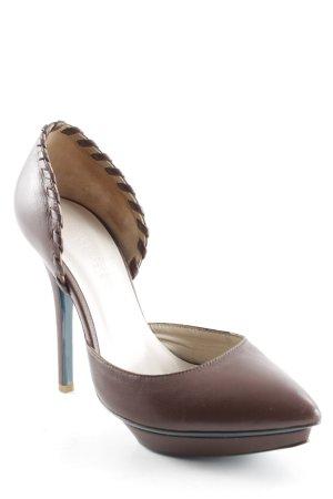 Patrizia Pepe High Heels braun Elegant