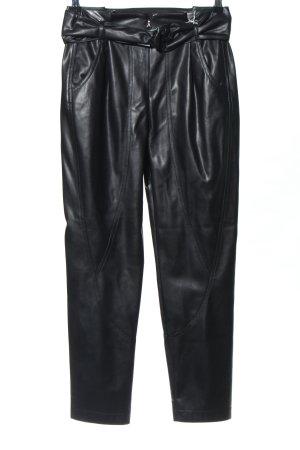 Patrizia Pepe High-Waist Hose schwarz extravaganter Stil