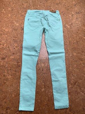 Patrizia Pepe Jeans skinny turchese