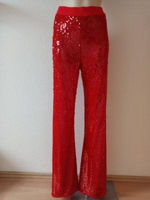 Patrizia Pepe Stretch broek lichtrood-rood
