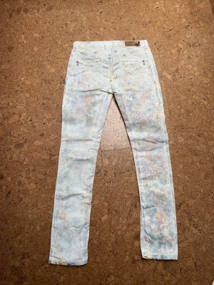 Patrizia Pepe Jeans a gamba dritta multicolore