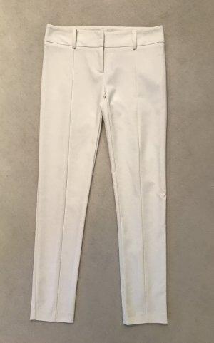 Patrizia Pepe Stretch Trousers white