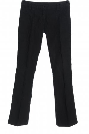 Patrizia Pepe Low-Rise Trousers black casual look