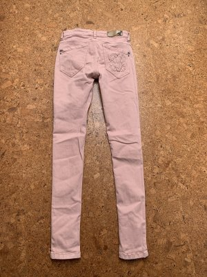 Patrizia Pepe Jeans skinny rosa chiaro