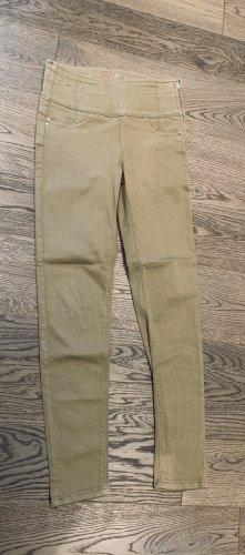 PATRIZIA PEPE Jeans Jeggings High Waist beige Gr. 29 bzw. Gr. 38 NEUWERTIG