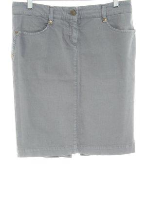 Patrizia Pepe Jupe en jeans gris style décontracté