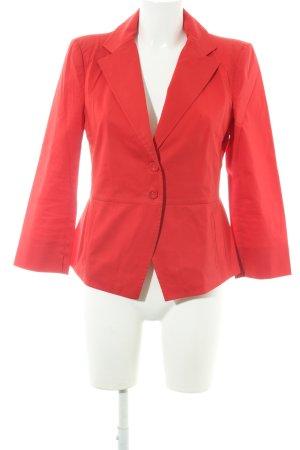 Patrizia Pepe Jersey blazer rood casual uitstraling