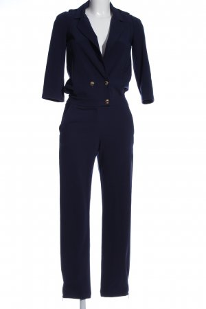 Patrizia Pepe Jumpsuit blau Business-Look