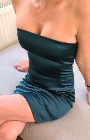 Patrizia Pepe Kleid satin Abiball Etuikleid Cocktailkleid
