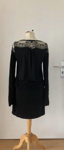 Patrizia Pepe, Kleid, Spitze, langarm, schwarz, Gr. 2, tip Zustand
