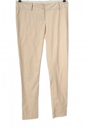 Patrizia Pepe Faux Leather Trousers natural white casual look