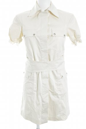 Patrizia Pepe Abito a maniche corte crema-bianco sporco stile casual