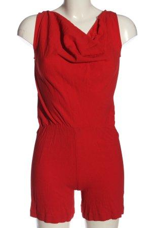 Patrizia Pepe Kurzer Jumpsuit red casual look