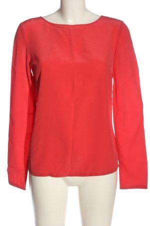 Patrizia Pepe Camicetta a maniche lunghe rosso stile casual