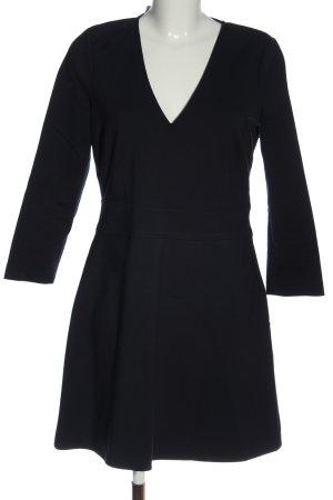 Patrizia Pepe Sukienka z długim rękawem ciemnoniebieski W stylu casual
