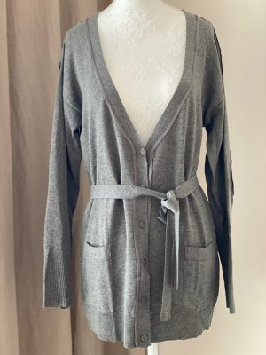 Patrizia Pepe Cardigan gris-gris clair laine