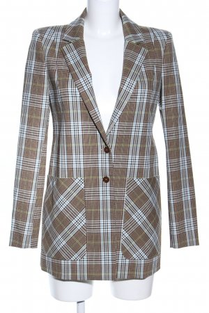 Patrizia Pepe Long-Blazer Karomuster Business-Look
