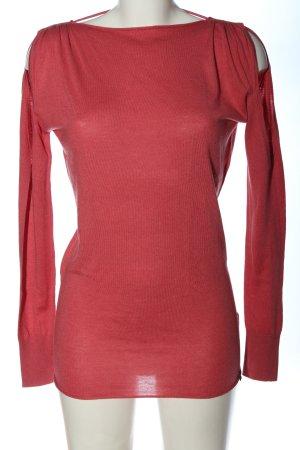 Patrizia Pepe Koszulka z długim rękawem czerwony W stylu casual
