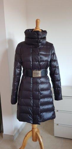 Patrizia Pepe Gewatteerde jas zwart Nylon