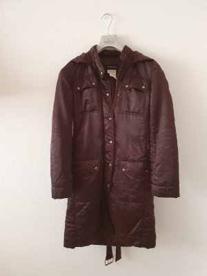 Patrizia Pepe Quilted Coat black brown