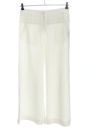 Patrizia Pepe Spodnie Marlena kremowy W stylu casual
