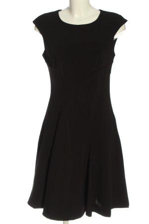 Patrizia Pepe Sukienka midi czarny W stylu biznesowym