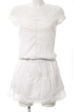 Patrizia Pepe Minikleid weiß Casual-Look