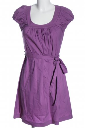 Patrizia Pepe Sukienka mini fiolet W stylu casual