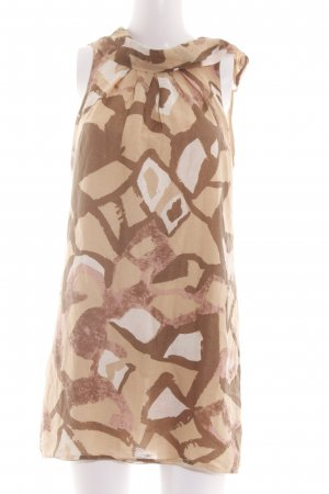 Patrizia Pepe Minikleid abstraktes Muster Casual-Look