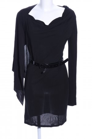 Patrizia Pepe One Shoulder Dress black elegant