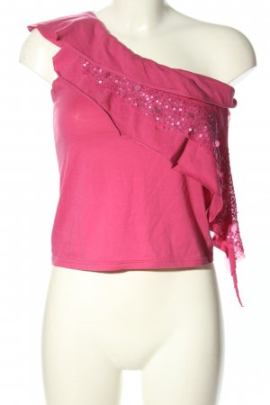Patrizia Pepe One-Shoulder-Top pink Casual-Look