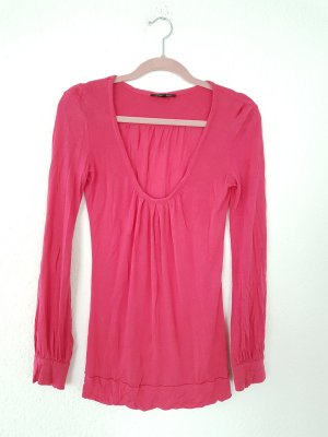 Patrizia Pepe Pullover Kaschmir trendfarbe pink blogger