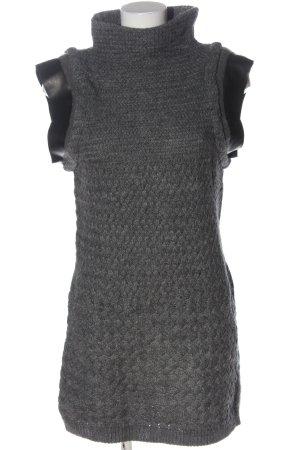 Patrizia Pepe Swetrowa sukienka jasnoszary Melanżowy W stylu casual
