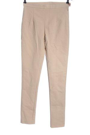 Patrizia Pepe Spodnie rurki kremowy W stylu casual