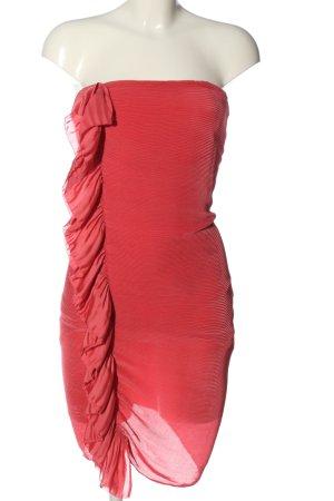 Patrizia Pepe Robe épaules nues rose élégant