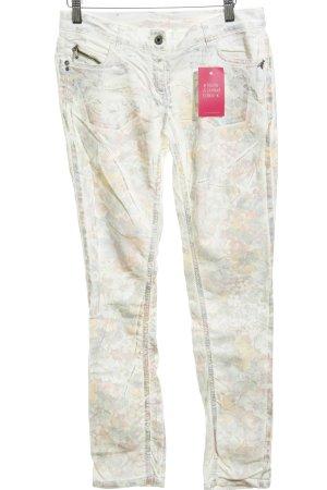 Patrizia Pepe Jeans skinny motivo floreale stile casual