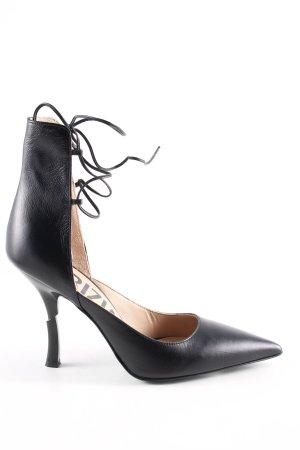 Patrizia Pepe Spitz-Pumps schwarz extravaganter Stil