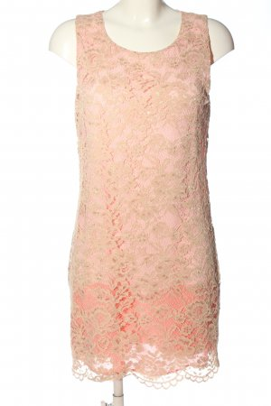 Patrizia Pepe Spitzenkleid pink-creme Elegant