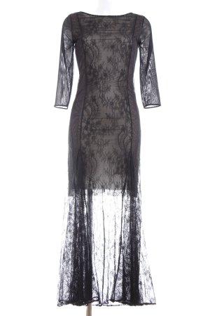 Patrizia Pepe Lace Dress natural white-black elegant