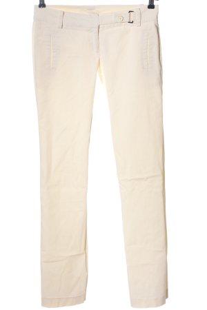 Patrizia Pepe Pantalone jersey bianco sporco stile casual