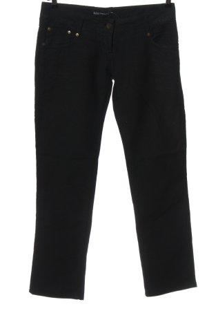 Patrizia Pepe Straight-Leg Jeans schwarz Casual-Look