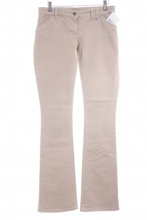 Patrizia Pepe Straight-Leg Jeans beige Casual-Look