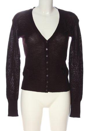 Patrizia Pepe Cardigan tricotés noir style décontracté